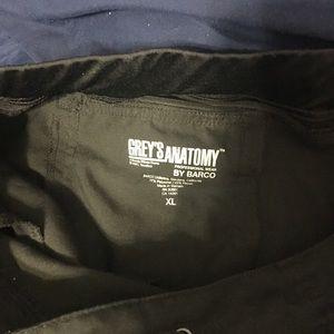 Grey's Anatomy Pants - Grey's Anatomy Scrub Pant, XL, Black